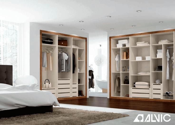 Interior de armarios gama Alvic