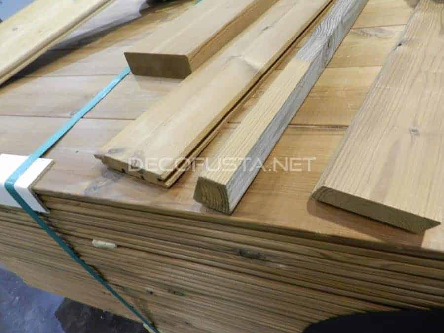 Lunawood madera termo tratada