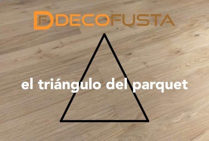 el triangulo del parquet