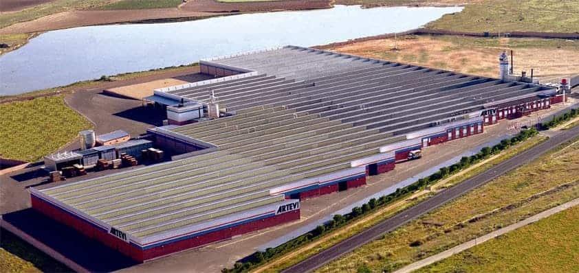 Fabrica Artevi en Vilacañas