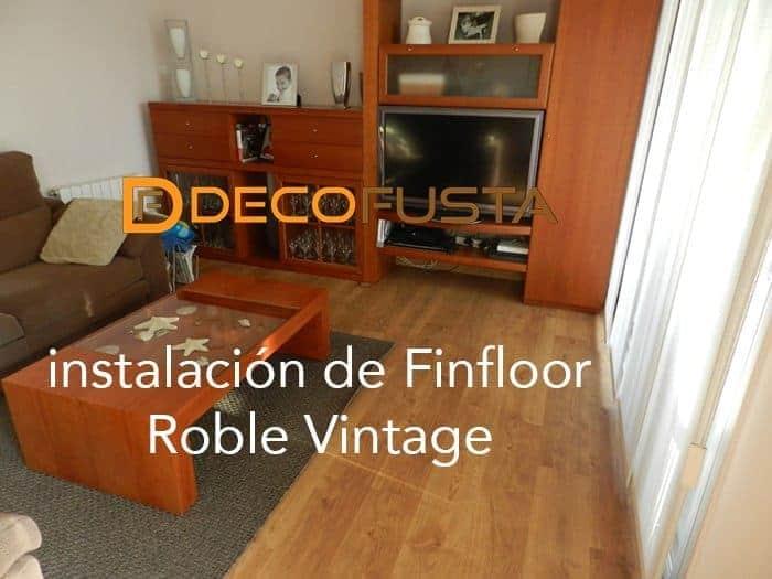 instalacion de Finfloor roble vintage