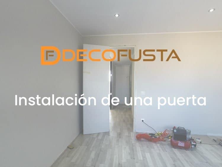 Instalación de una puerta