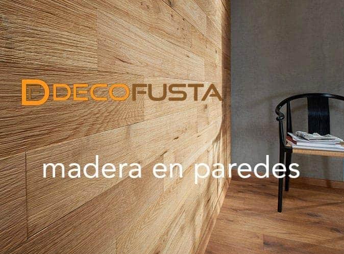 madera en paredes