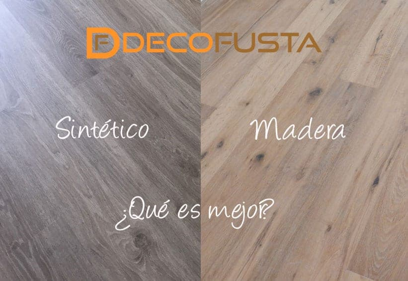 madera o sintetico