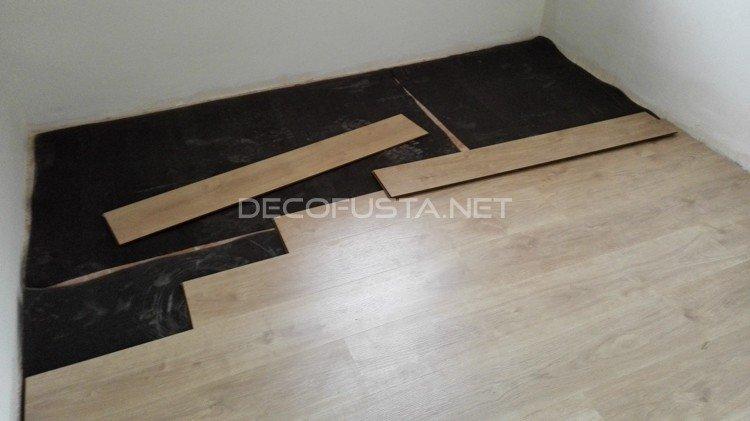 Montar el suelo laminado