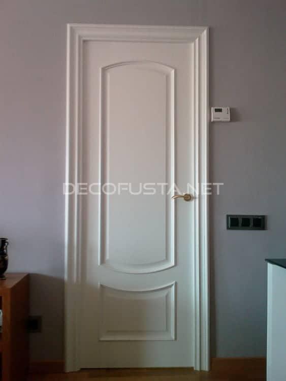 Puertas lacadas clasicas curva catalana