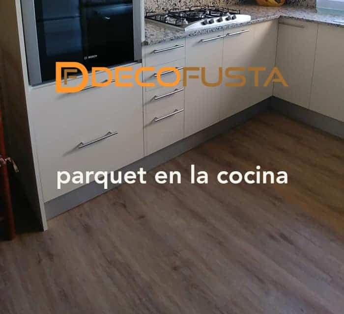 Parquet en la cocina