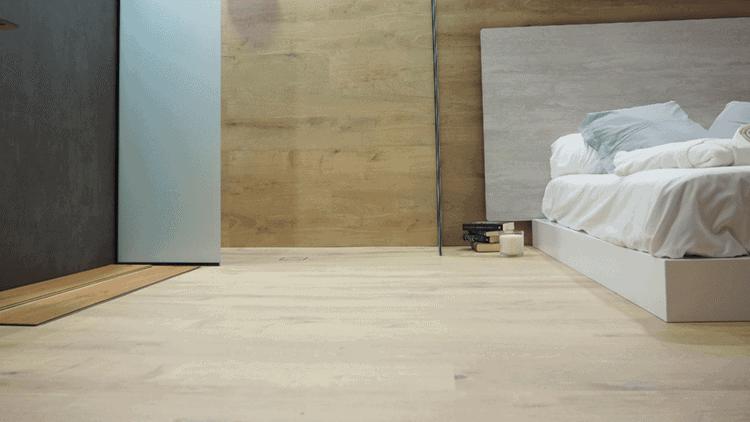 Platos de ducha integrados con el suelo