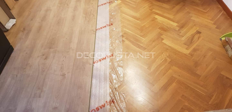 Como poner suelo instalar losetas de vinilo en suelos - Poner parquet en casa ...