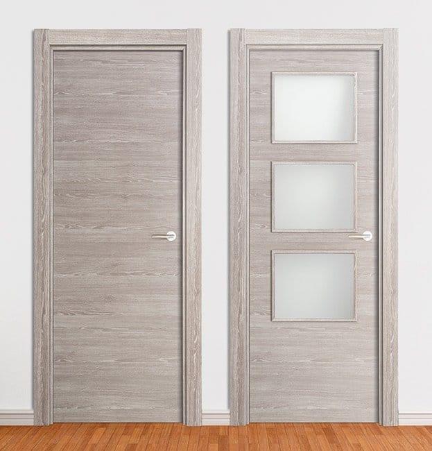 puerta laminada roble finlandes