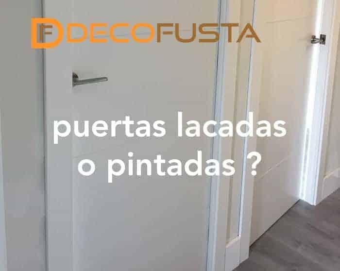 Precios puertas lacadas en blanco free pintar puertas for Puertas uniarte lacadas