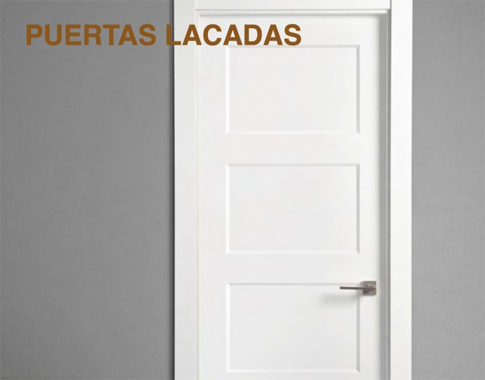 Lacar puertas en blanco precio latest pintar puertas for Lacar muebles en blanco