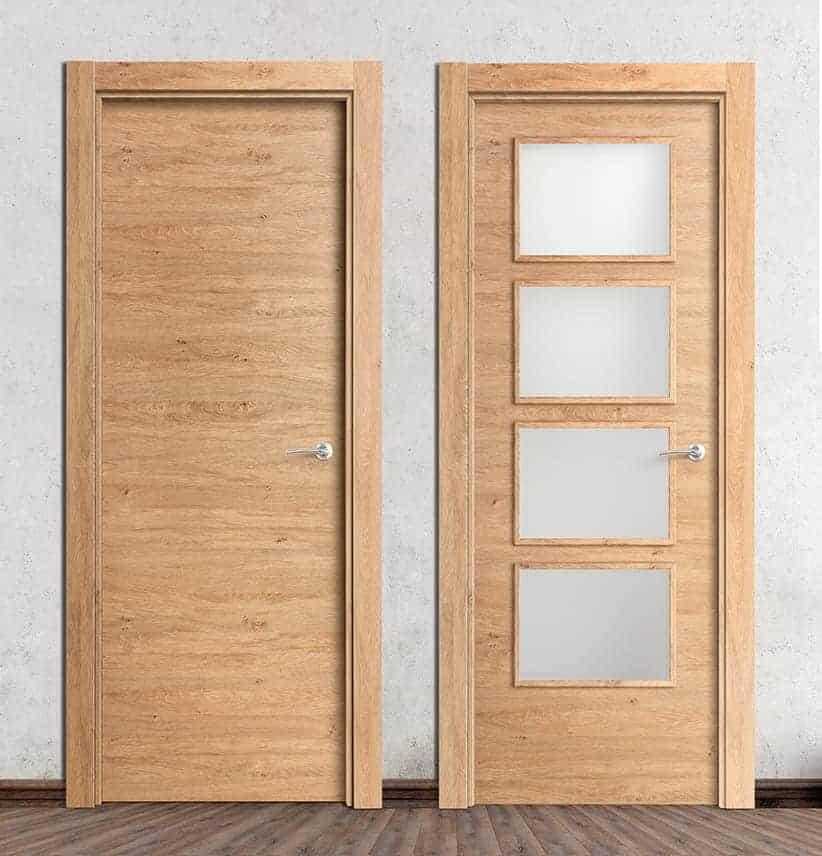 puertas laminadas roble rustico y 4v