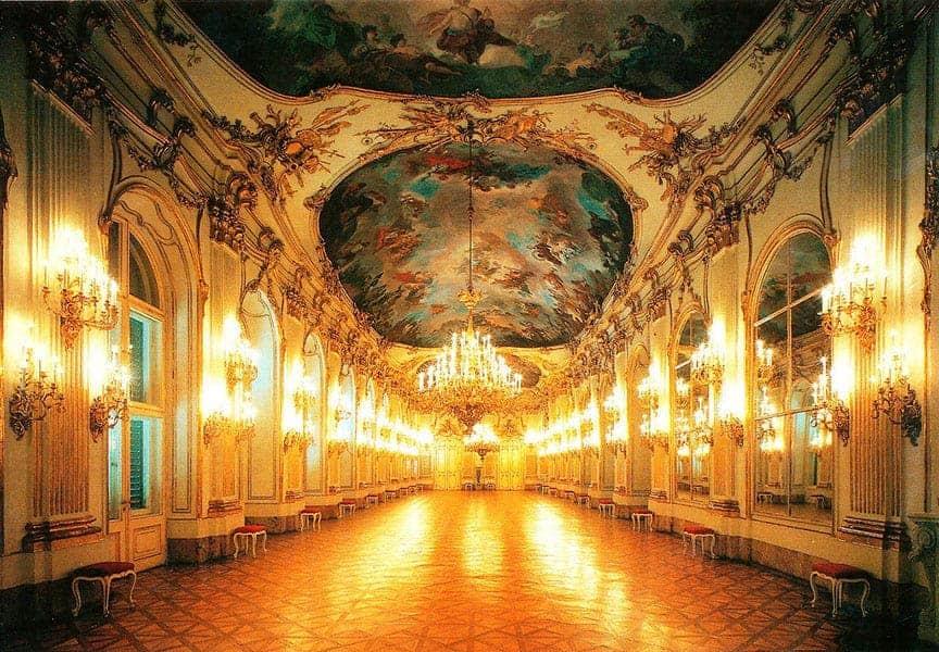 Interior palacio Schonbrunn