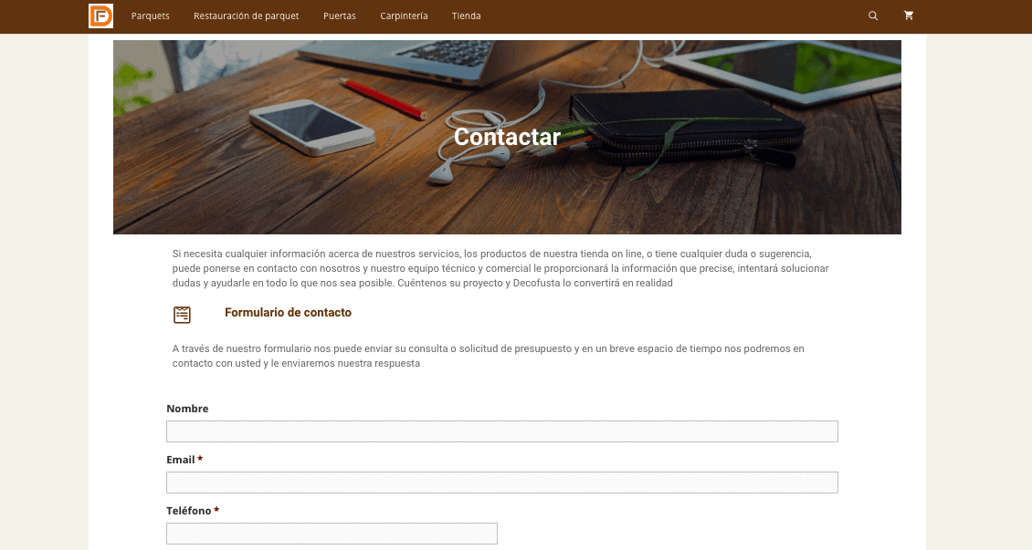 Realizar una consula via web