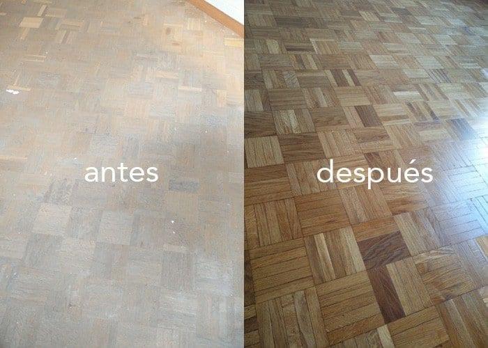 Restauración, antes y después