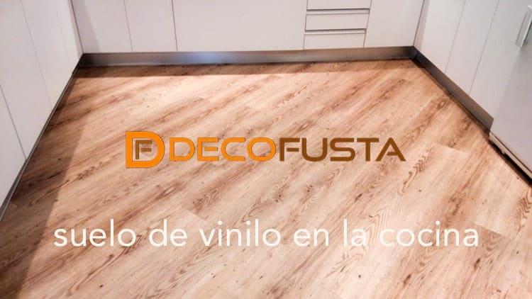 Suelo de vinilo v line en cocina y ba o decofusta - Vinilos suelo cocina ...