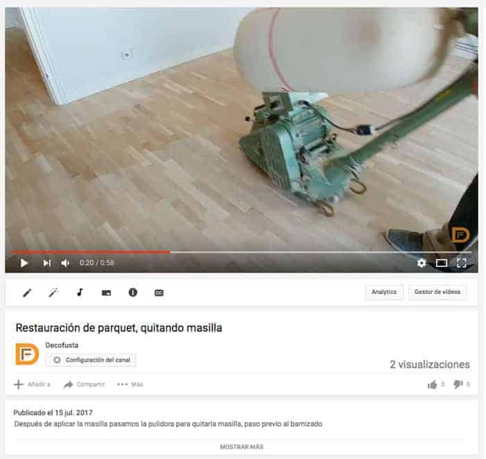 Video puliendo